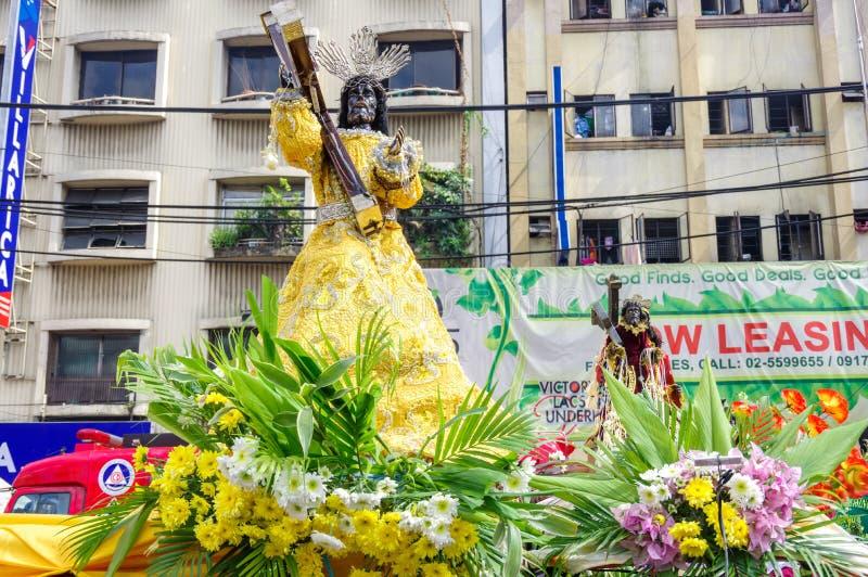 Festival preto do Nazarene no distrito de Quiapo foto de stock royalty free
