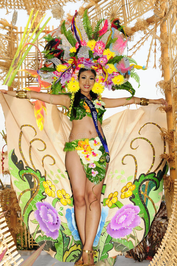 Festival queen royalty free stock images