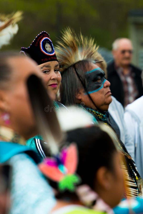 Festival Radford Virginia 4/13/2019 del nativo americano foto de archivo libre de regalías