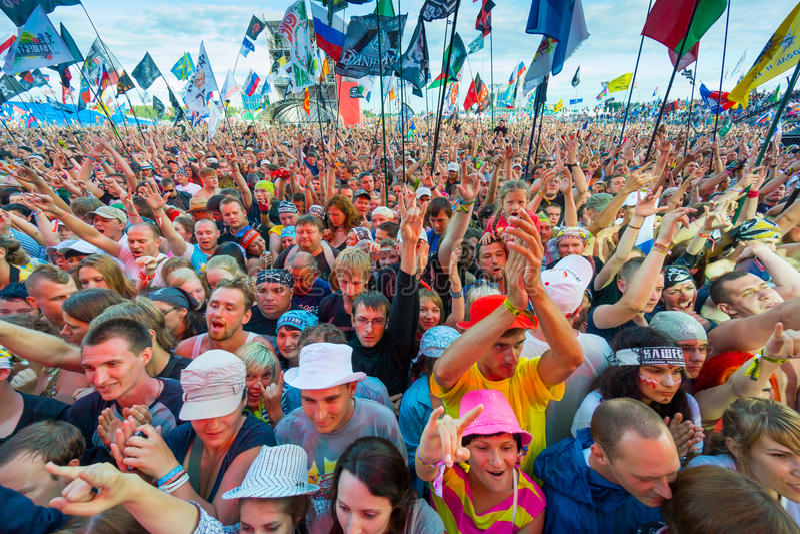 Festival rock fotografia stock libera da diritti