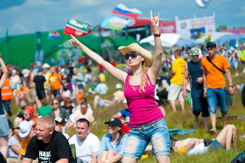 Festival rock fotografia stock