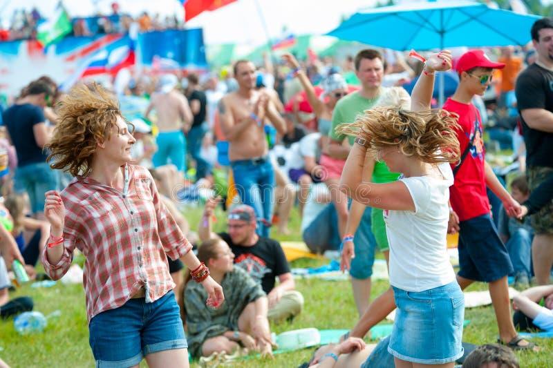 Festival rock fotografie stock libere da diritti