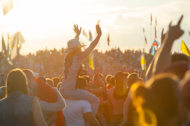 Festival rock immagini stock libere da diritti
