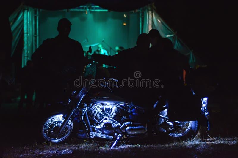 Festival Rock Biker fotos de stock royalty free
