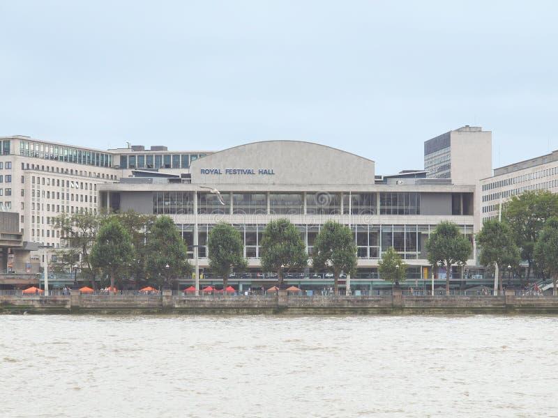 Festival royal Hall, Londres photos libres de droits