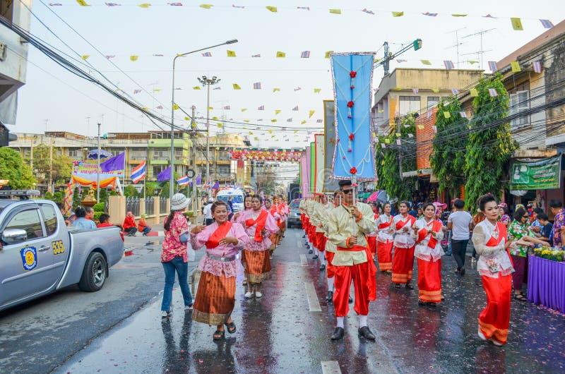 Festival tailandês foto de stock