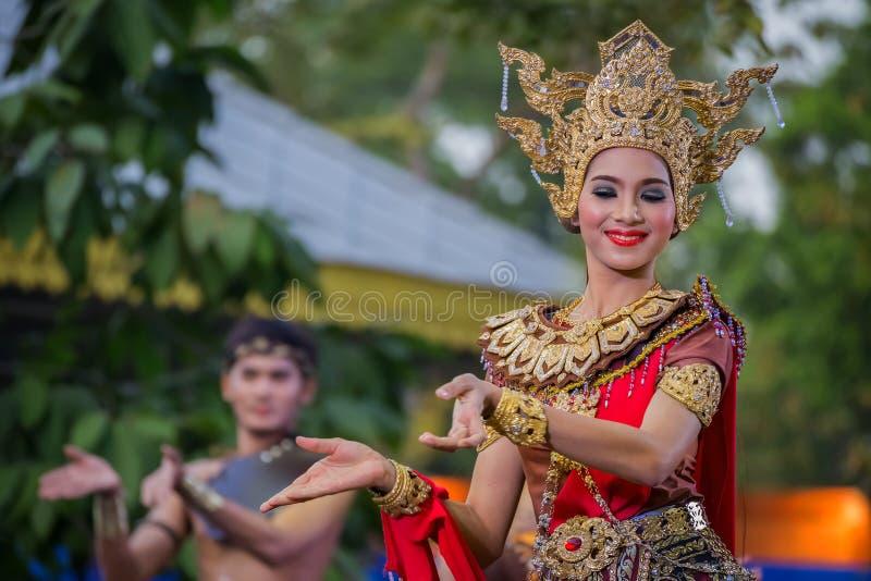 Festival tailandese della cultura a Bangkok, Tailandia immagini stock libere da diritti