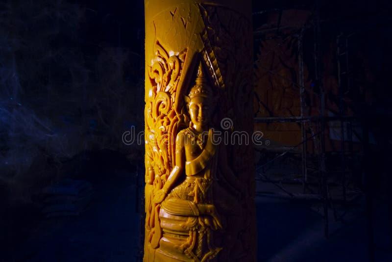 Festival Tailandia Ubonratchathani de la vela fotografía de archivo libre de regalías