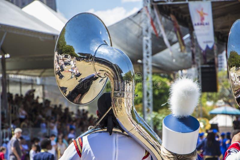 Festival tradizionale della cultura dello stato di Revelando São Paulo - di Sao Paulo immagine stock libera da diritti