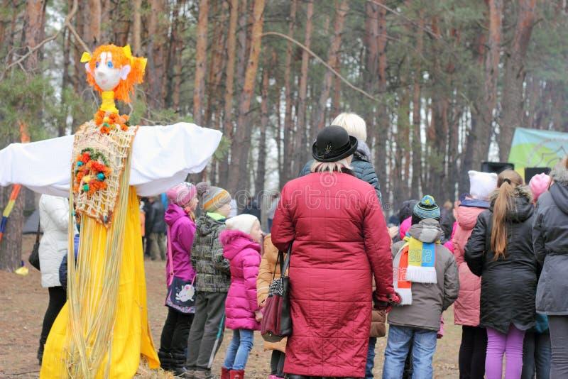 Festival um a mola da reunião foto de stock royalty free