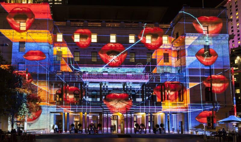 Festival vívido de Sydney imagens de stock royalty free