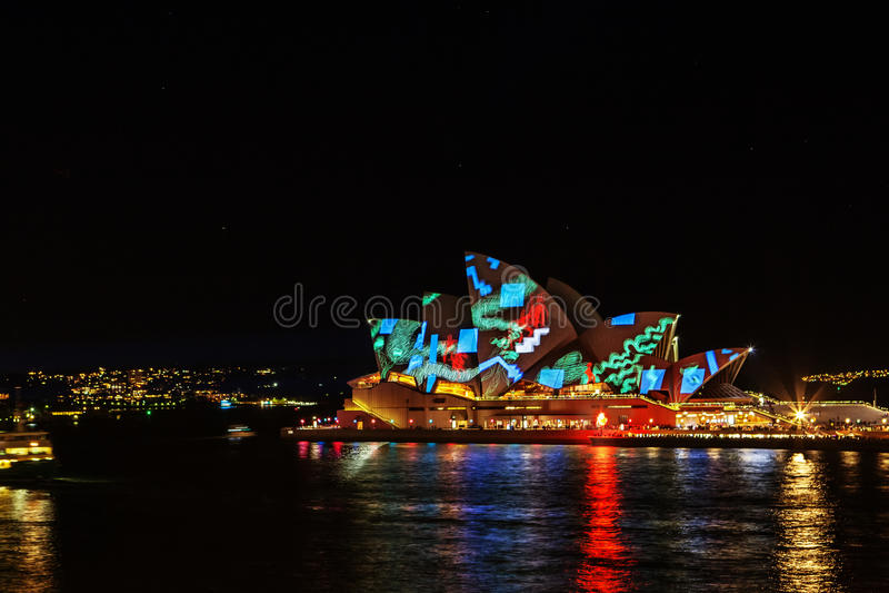 Festival VÍVIDO Sydney foto de stock royalty free