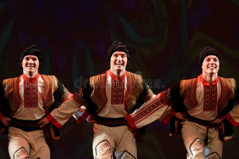 Festival van choregrafische Grand van kunstpari royalty-vrije stock foto's