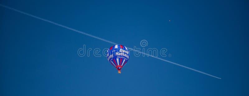 festival van de Ballon van de Hete Lucht van 2013 het 35ste Internationale, Zwitserland royalty-vrije stock foto's