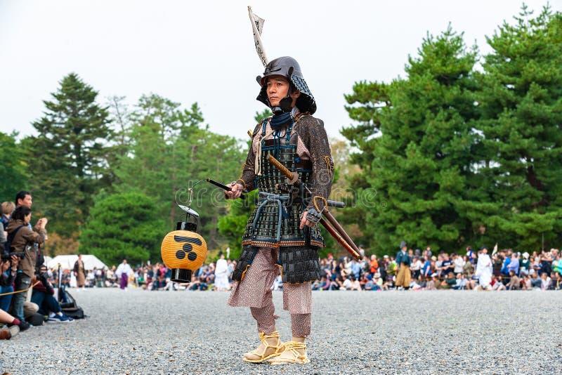 Festival van de Leeftijden, Kyoto, Japan stock afbeeldingen