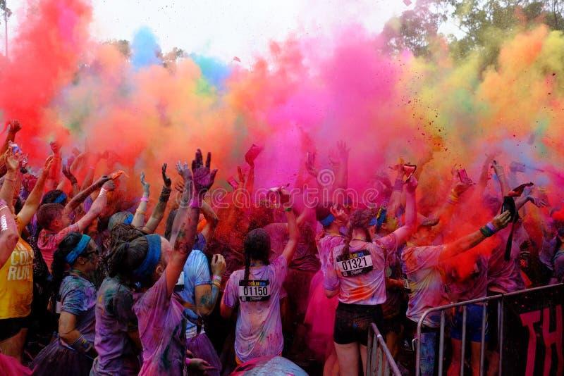 Festival van Kleur royalty-vrije stock fotografie