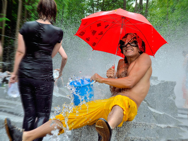 Festival van water royalty-vrije stock foto's