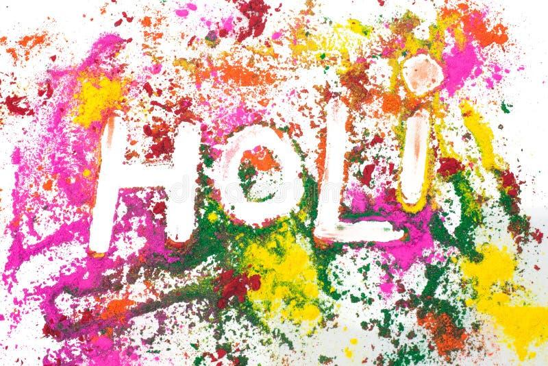 Festival von Farben stock abbildung