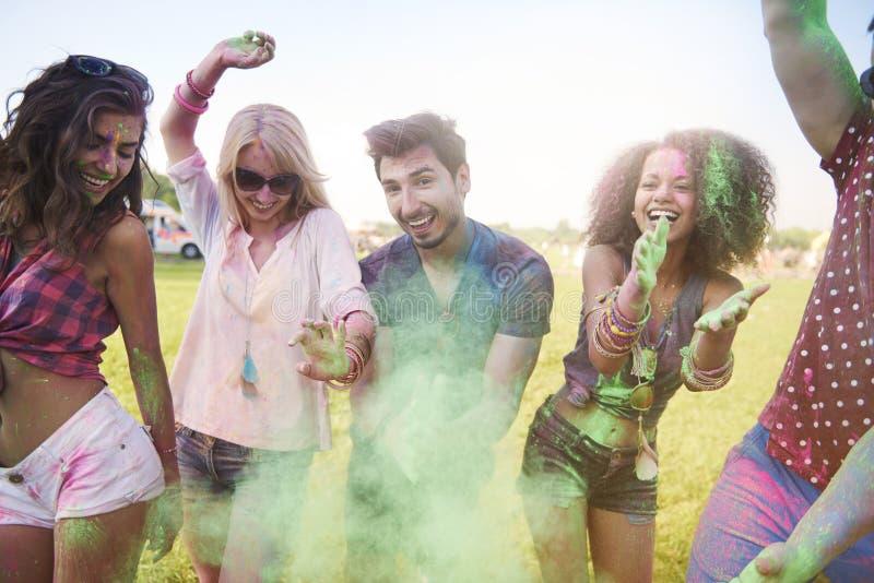 Festival von Farben stockbild