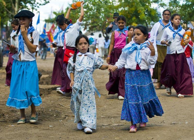 festivalgaucho royaltyfria bilder