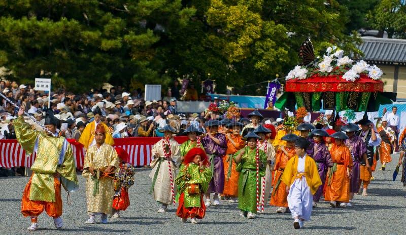festivaljidaimatsuri arkivfoto