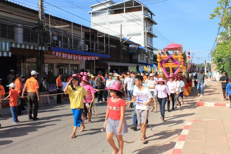 Festivals de Chak Phra photographie stock libre de droits