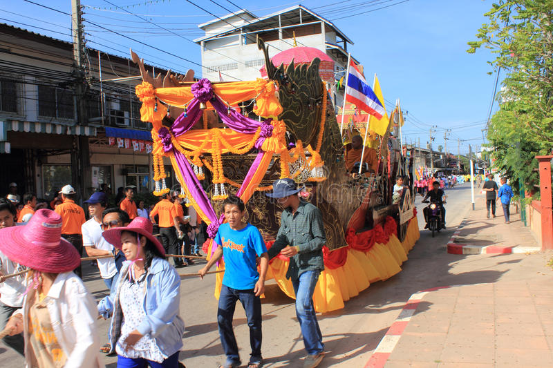 Festivals de Chak Phra photo libre de droits
