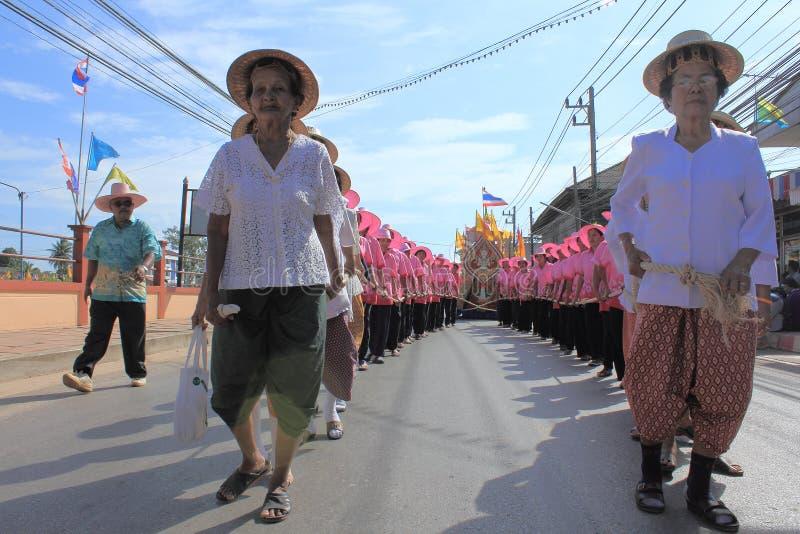 Festivals de Chak Phra photos stock