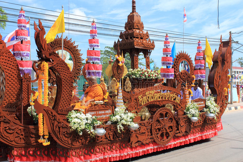Festivals de Chak Phra photo libre de droits