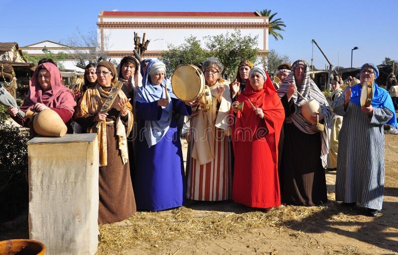 Festivals de rue en Espagne photo libre de droits