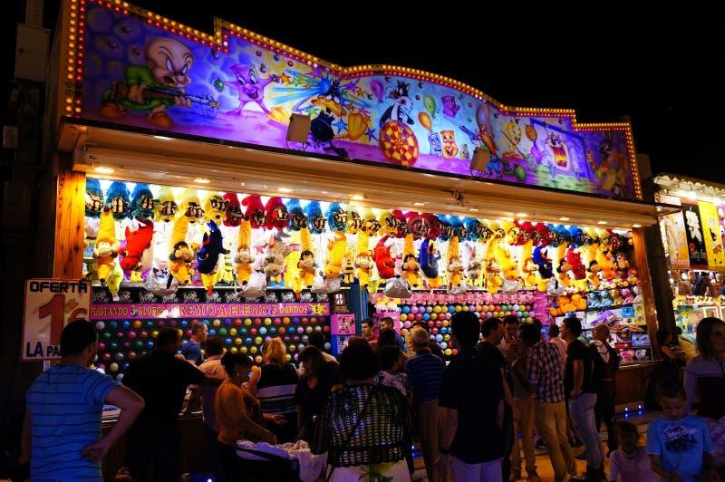 Festivals en Espagne image libre de droits