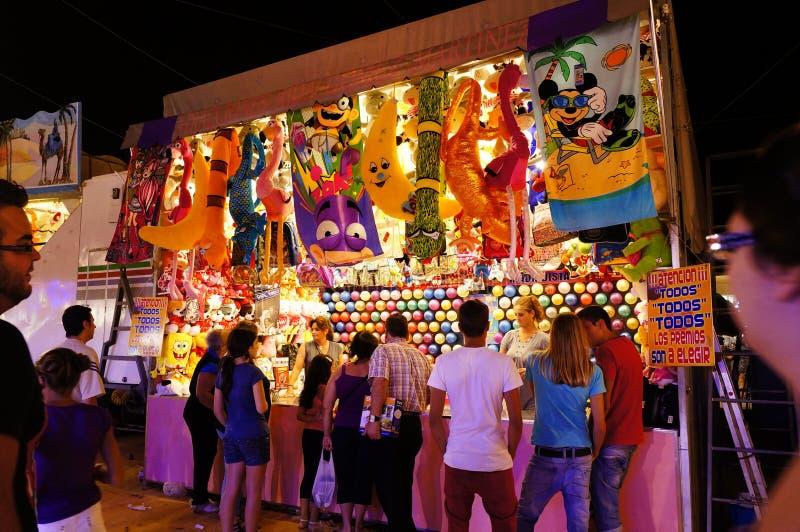 Festivals en Espagne photo stock