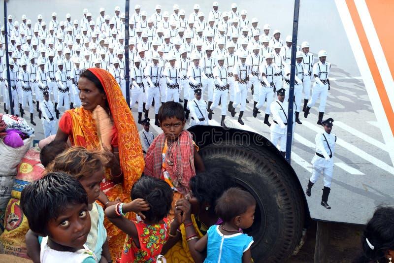 FESTIVALS INDIENS GANGASAGAR MELA images stock