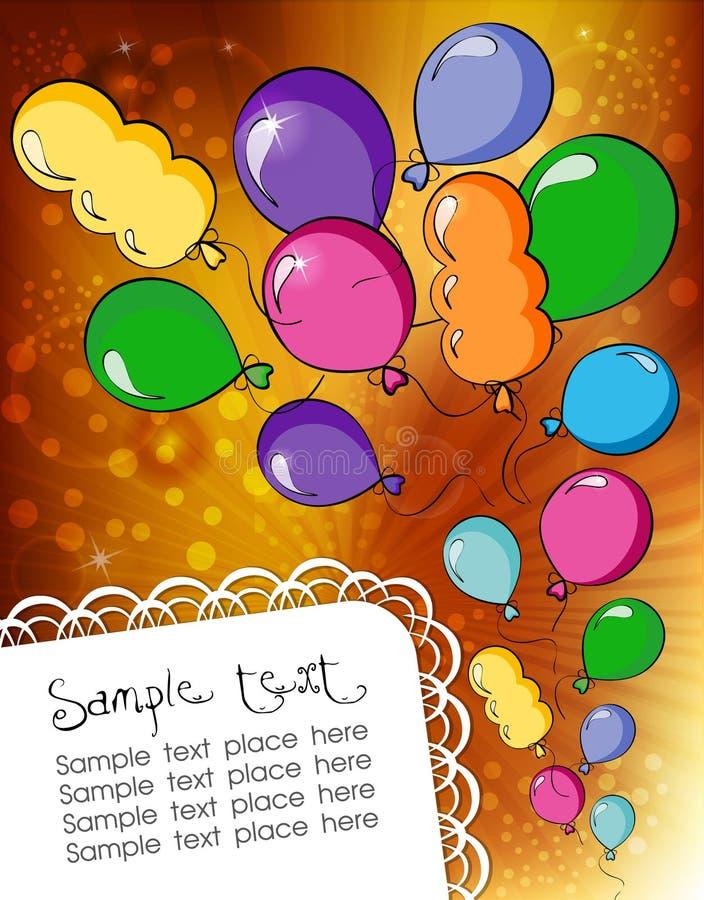 Download Festive background stock vector. Illustration of editable - 26500587