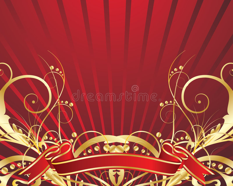 Download Festive background stock vector. Illustration of decorations - 9254437