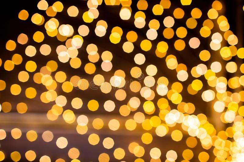 Festive background with bokeh lights. Christmas and New year. Abstract stock images