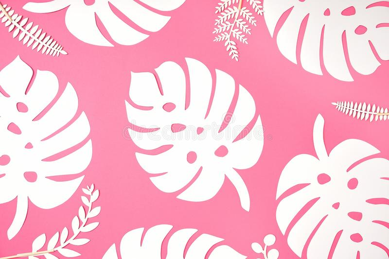Festive background. Tropical theme. Summer. Hawaii. Party, birthday. View from above. stock image