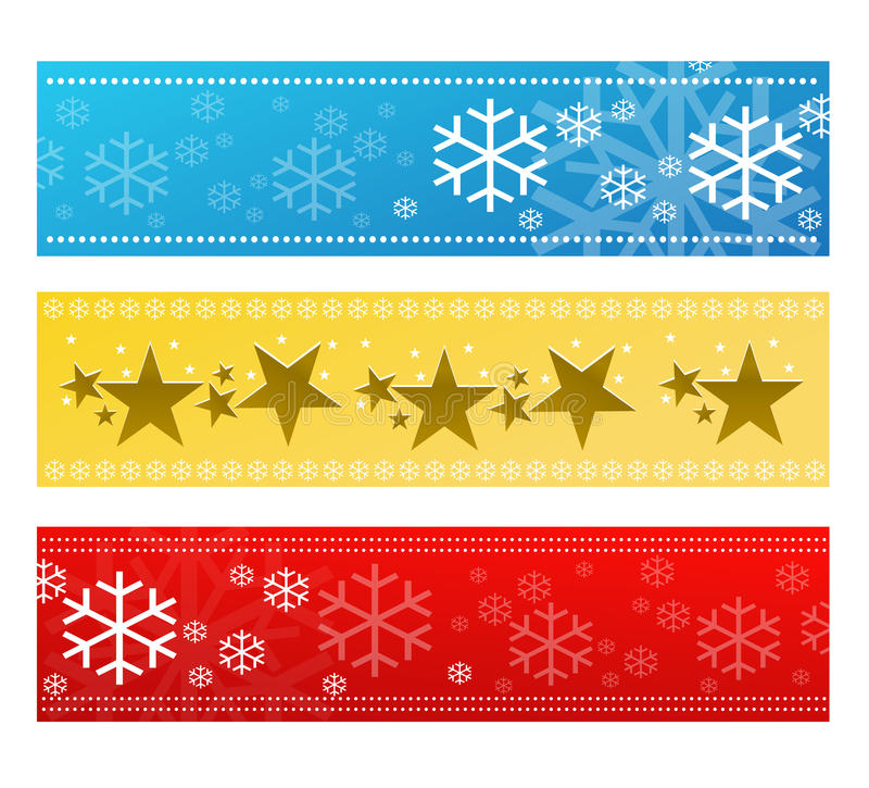 Festive banner set