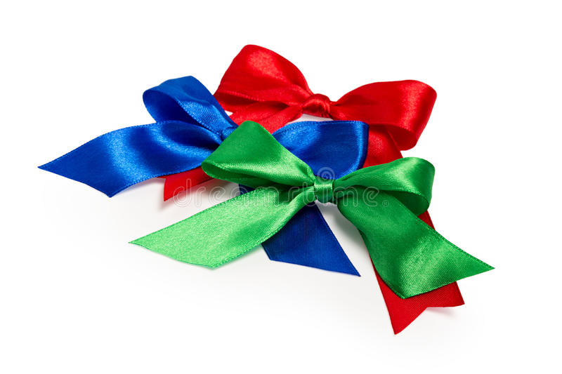 Download Festive Bows Made Of Ribbon Stock Image - Image: 27222075