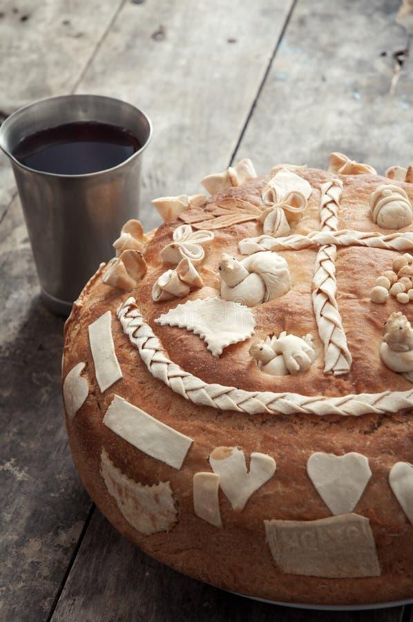 Festive bread stock photos