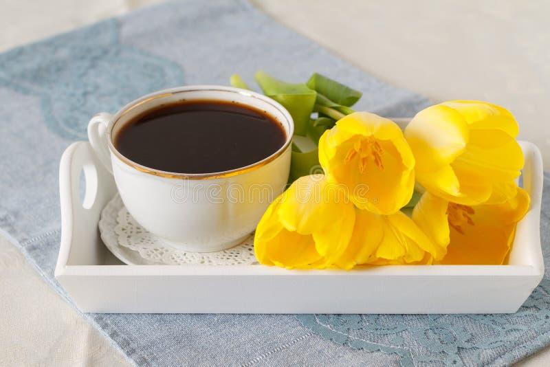 Festive breakfast royalty free stock photography