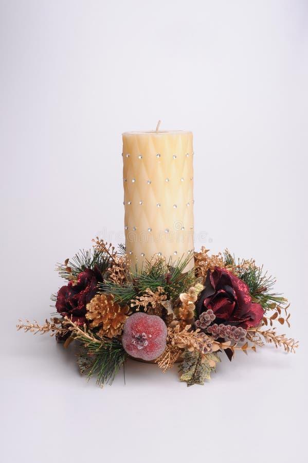 Download Festive candle stock image. Image of plain, decoration - 22909121