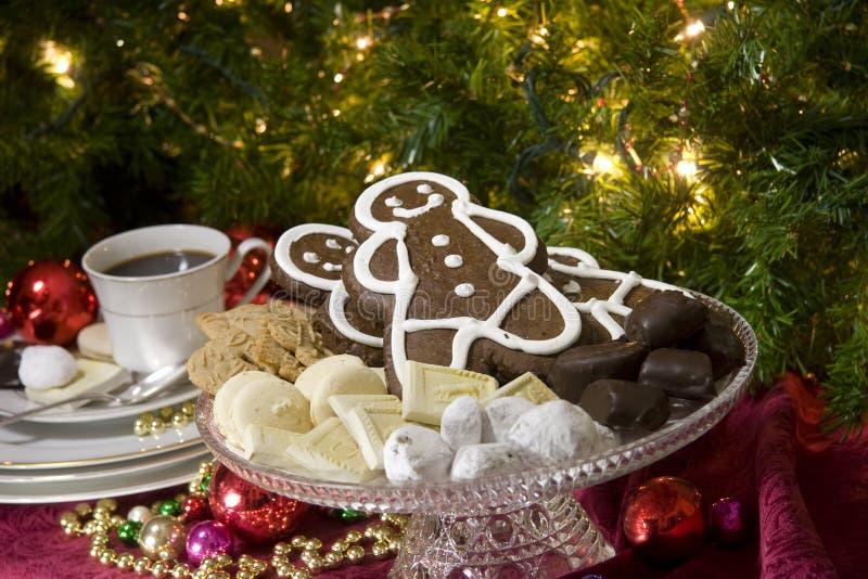 Festive Christmas Food Stock Photos
