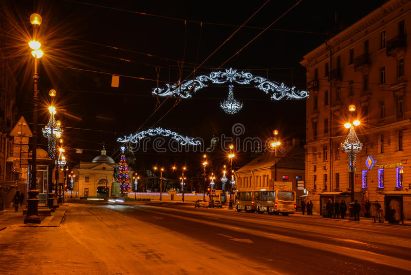 Download Festive Christmas morning stock image. Image of petersburg - 83701101