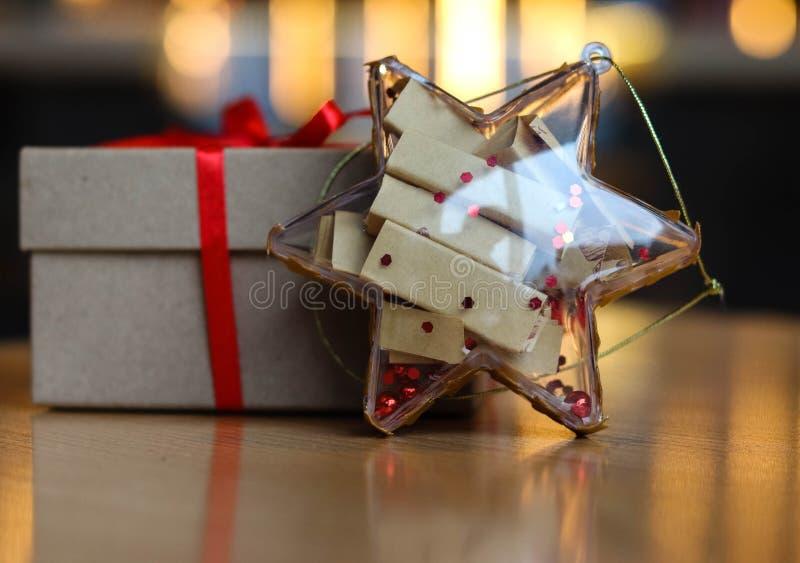 Festive Christmas toys Shine with lights stock image