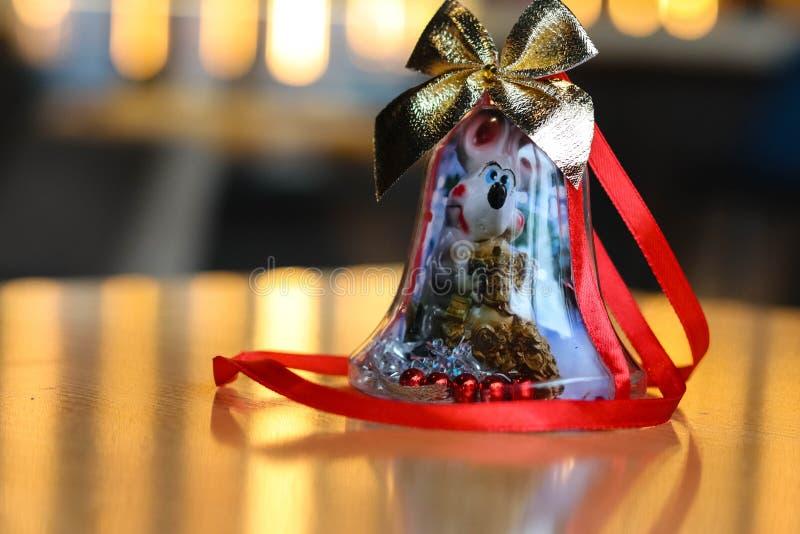 Festive Christmas toys Shine with lights stock photos
