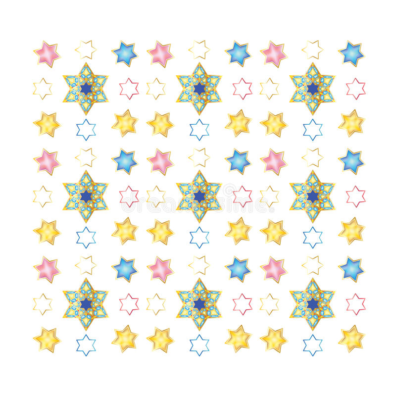 Download Festive Colorful Seamless Pattern Stock Vector - Illustration of historical, golden: 67435844