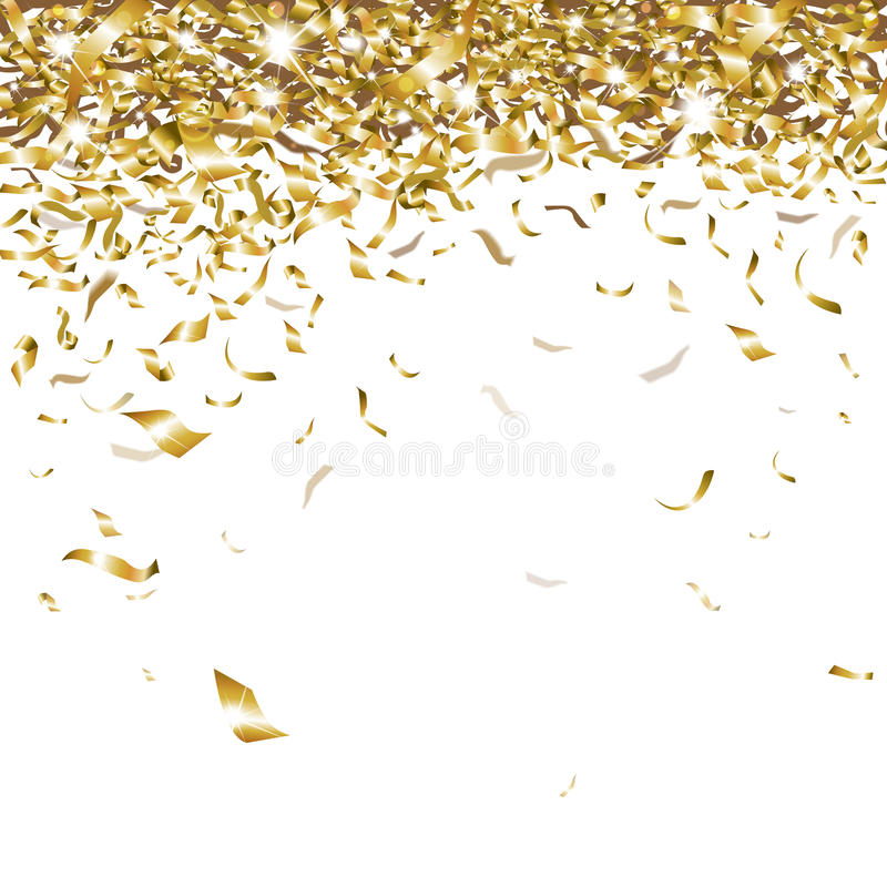 Festive confetti royalty free illustration