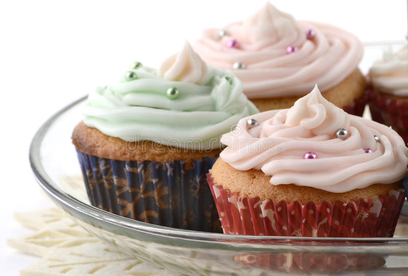 Download Festive cupcakes stock image. Image of isolated, cupcakes - 27650475