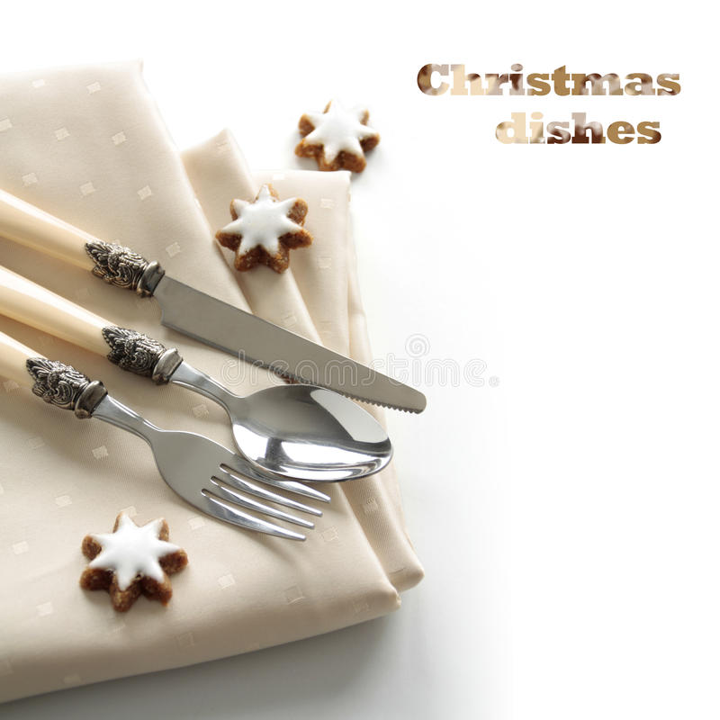 Download Festive cutlery set stock image. Image of atmospheric - 22062115